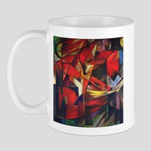 The Fox by Franz Marc Mug